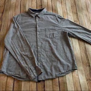 Goodfellow & Co men's striped button down shirt